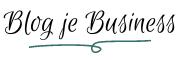 Blog je Business logo